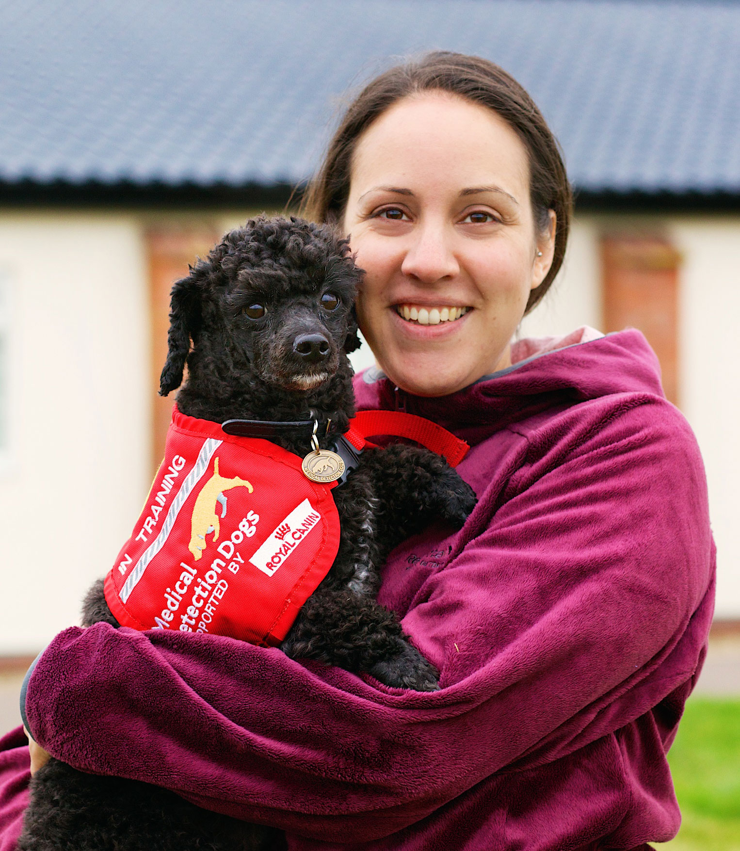 Claire and Medical Alert Assistance Dog Magic