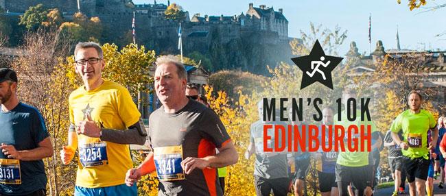 Mens 10K – Edinburgh