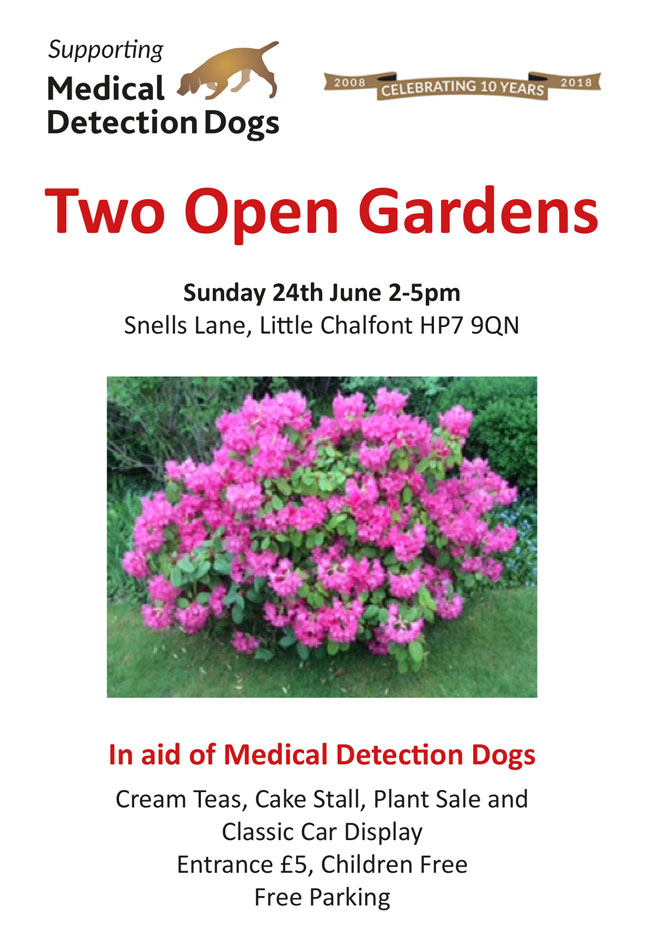 Two open gardens