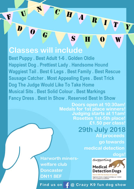 Charity dog show