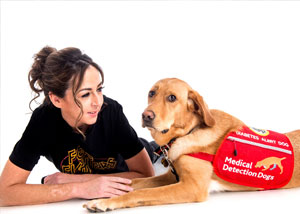 Medical Detection Dogs Help Diabetes Patients Regulate Insulin Levels