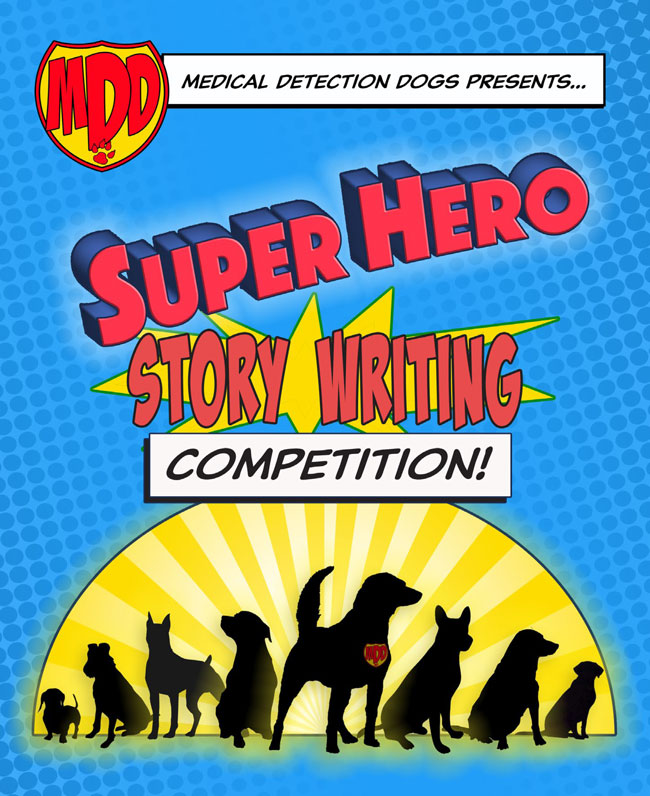 Super Hero Writing Competition